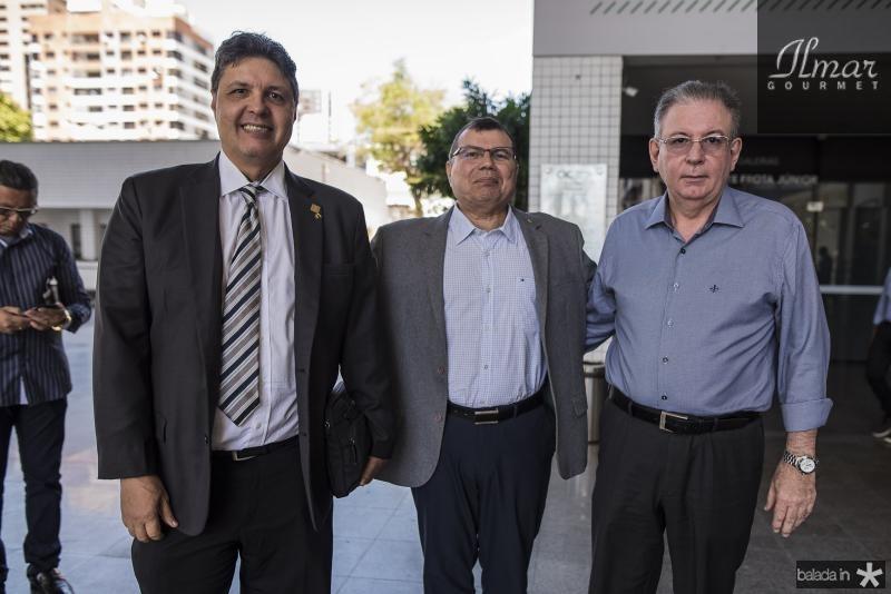 Marcos Oliveira, Coronel Duarte Frota e Ricardo Cavalcante