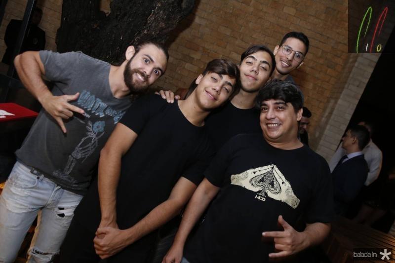 Gabriel Albu, Alexandre e Junior Zelig, Otavio Lucas e Rodrigo Filing