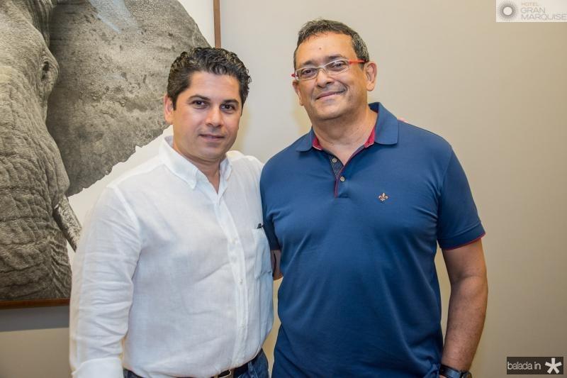 Pompeu Vasconcelos e Jose Guedes
