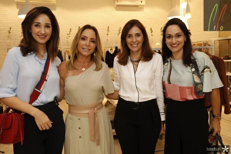 Sarah Gondim, Ana Paula Daud, Cristina Sleiman e Carmen Pompeu