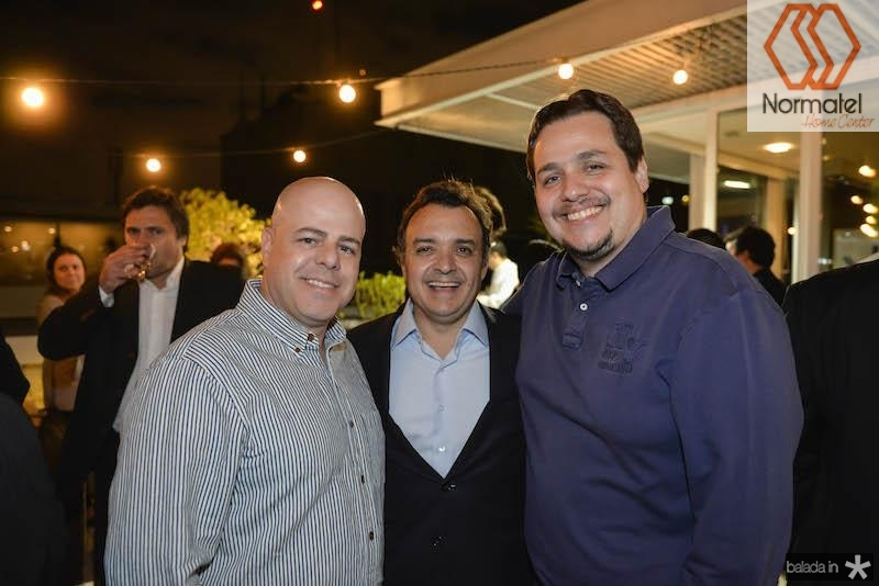 Estefano, Henrique Pereto e Alessandro