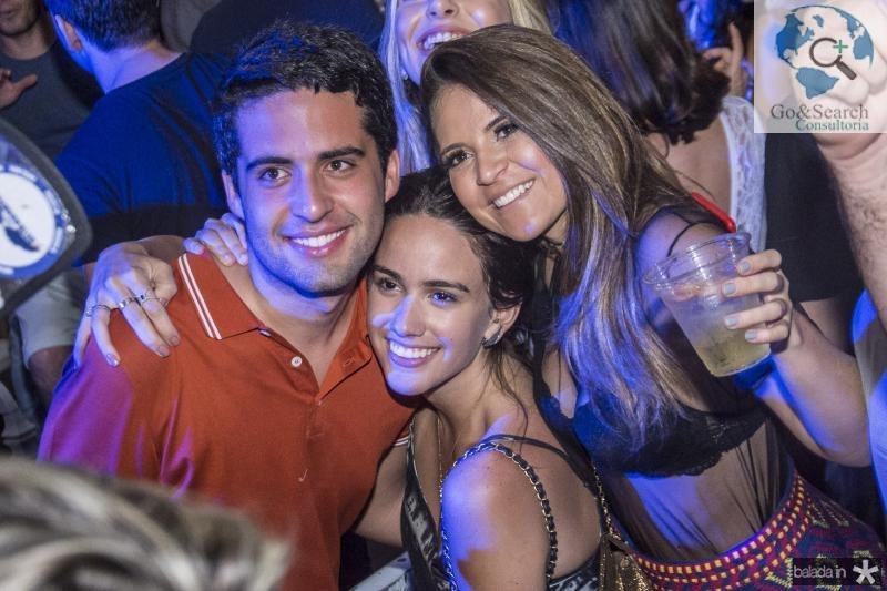 Vitor Oliveira, Priscilla Medeiros e Fernanda Borges