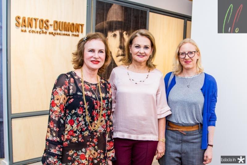 Renata Jereissati, Lenise Rocha e Mirela Rappaport