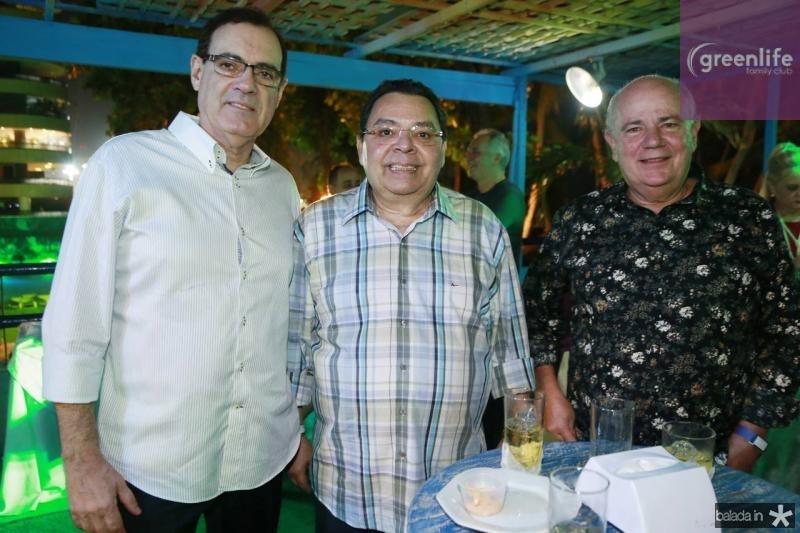Urbano Costa Lima, Gera Teixeira e Antonio Assis
