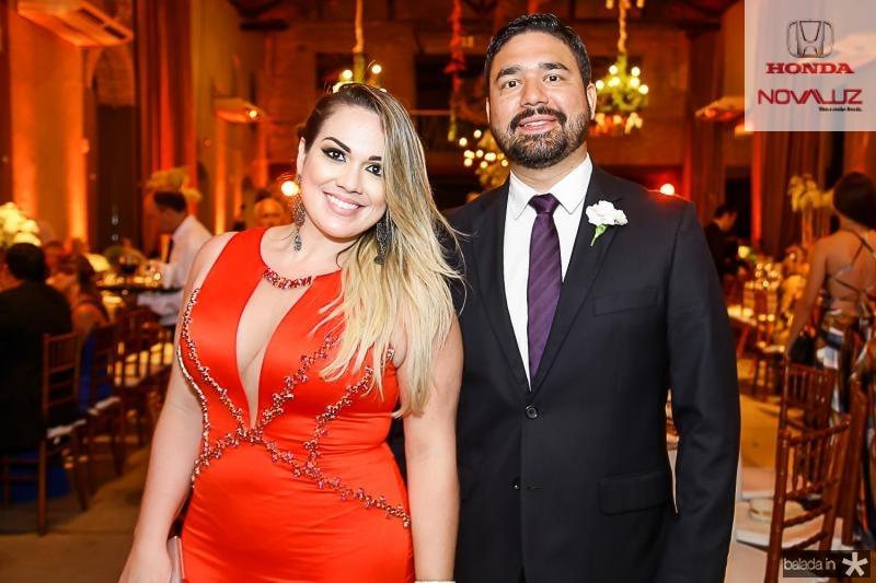 Livia Torres e Rodrigo Rocha