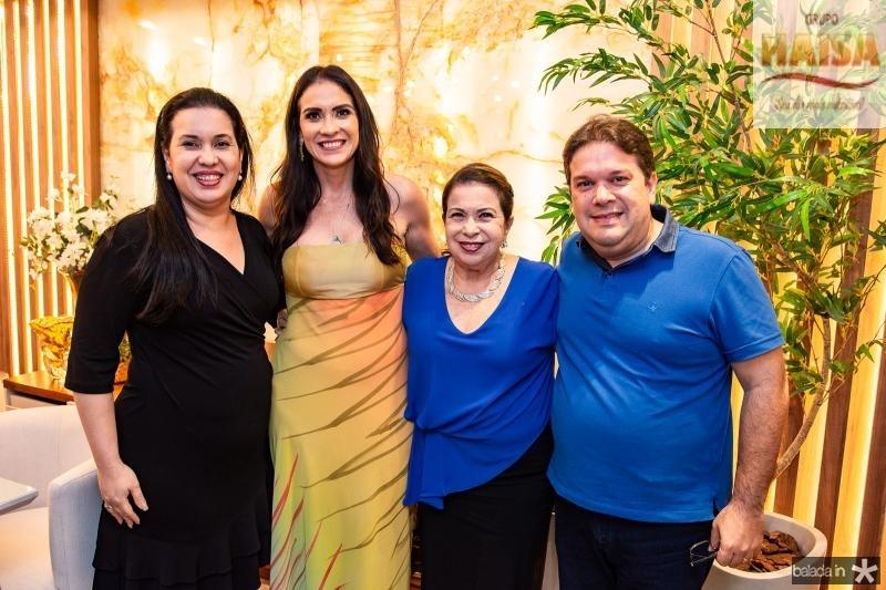 Cristiane Leitao, Luciana Carioca, Lucia Carioca e Chico Vale