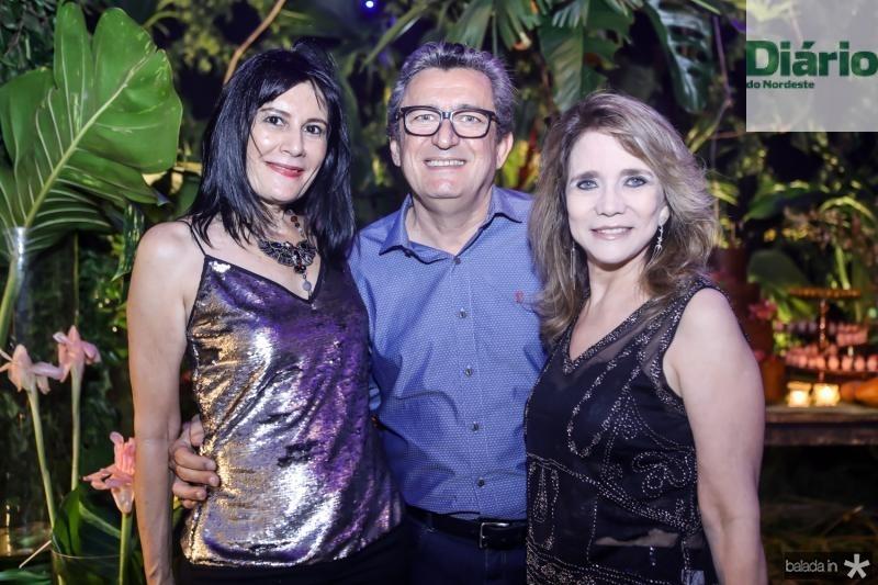 Rosalinda Pinheiro, Jorge Lotif e Sofia Linhares