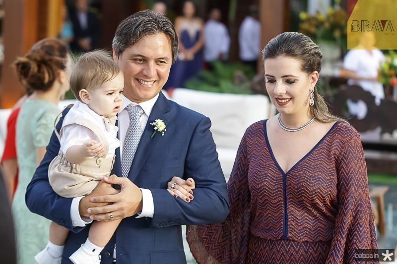 Joao, Marcio e Flavia Galiza