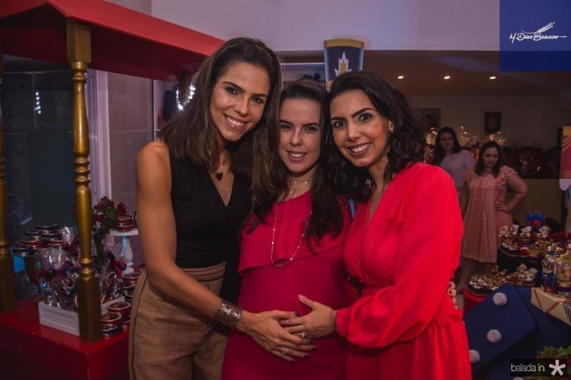 Alice Diniz, Eveline Mota e Carla Laprovitera