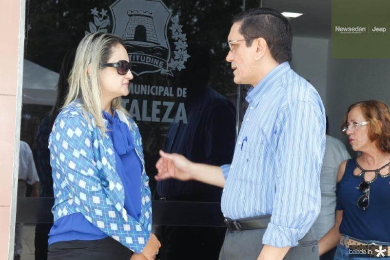 Clara Petrola e Denisio Pinheiro