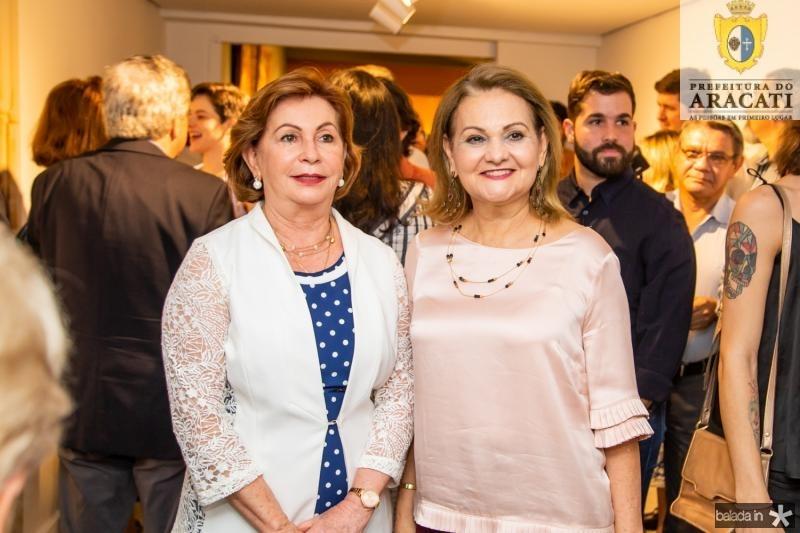 Fátima Veras e Lenize Rocha