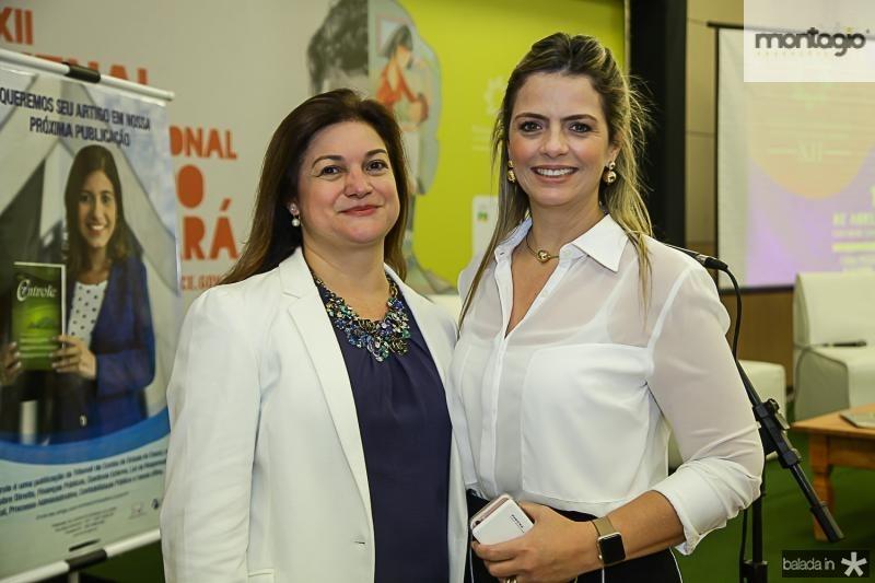 Kelly de Castro e Tais Pinto
