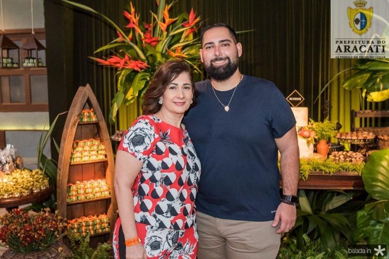 Diva Bezerra e Luiz Victor Torres