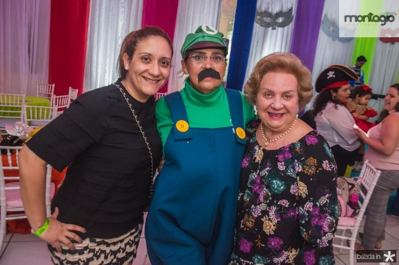 Leda Craveiro, Paula Athayde e Ledinha Craveiro