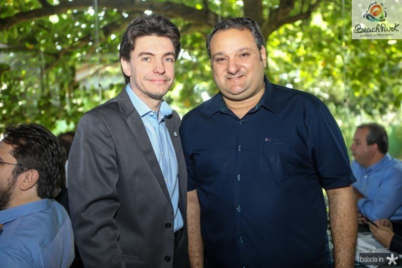 Marcelo Magalhaes e Patriolino Dias