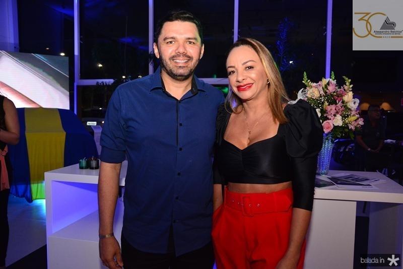 Cristiano Almeida e Deisa Oliveira