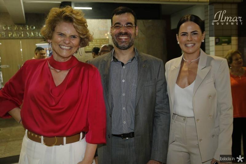 Joseana Franca, Rodrigo Bona e Luciana Souza
