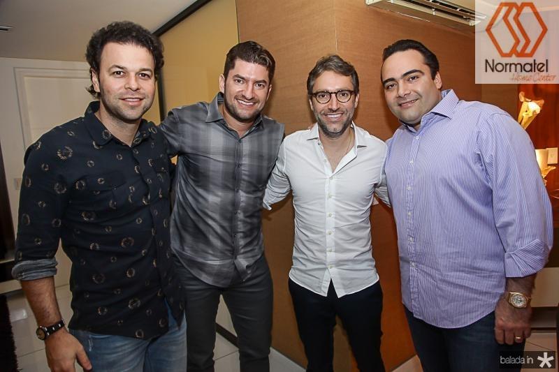 Geraldo Rola, Paulo Jose Benevides, Francisco Marinho e Ozires Pontes