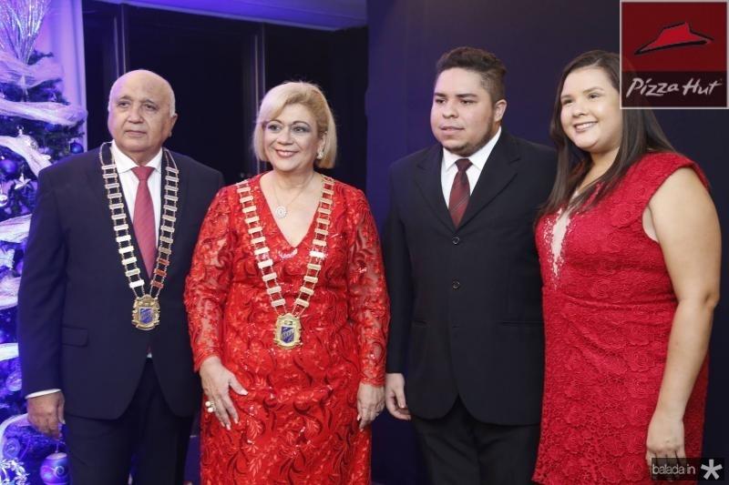 Epitacio Vasconcelos, Priscila Cavalcante, Israel Lucas e Amanda Vieira