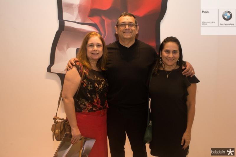 Karen Pereira, Jose Guedes e Karla Cordeiro