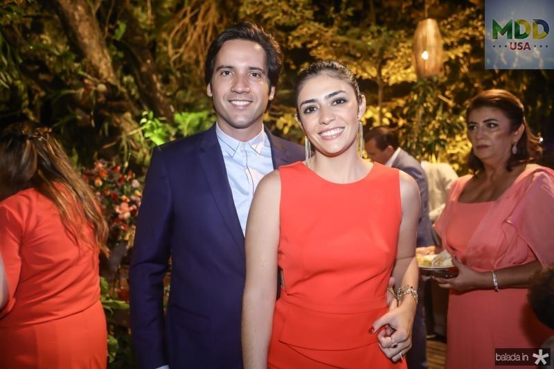 Felipe e Ana Tereza Carvalho
