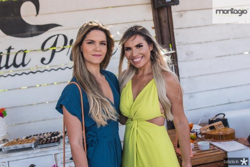Renata Bezerra e Grazi Nogueira