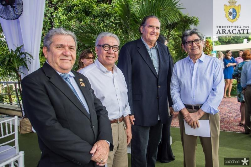 Jose Odimar de Lima, Arnaldo Santos, Luis Fiuza e Jose Augusto Bezerra