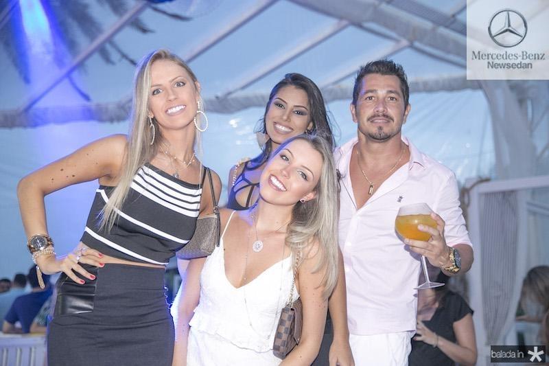 Raquele Cogo, Rafaela Cogo, Maylisi Ribeiro e Kiko Bussmann - Tiago Mynt