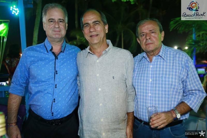 Arthur Costa Lima, Sergio Freitas e Geraldo Vasconcelos