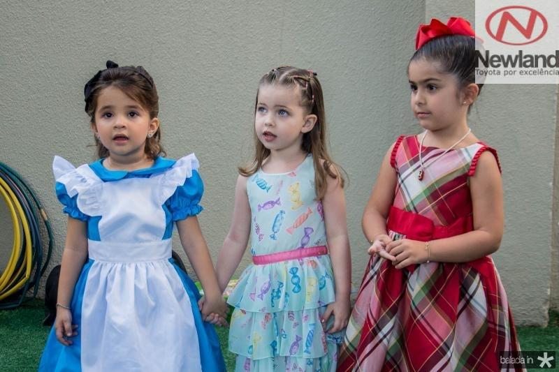 Maria Rosa Aguiar, Melissa Vidal e Maria Tereza Silveira