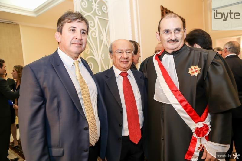 Regis Botelho, Jose Pimentel e Franze Gomes