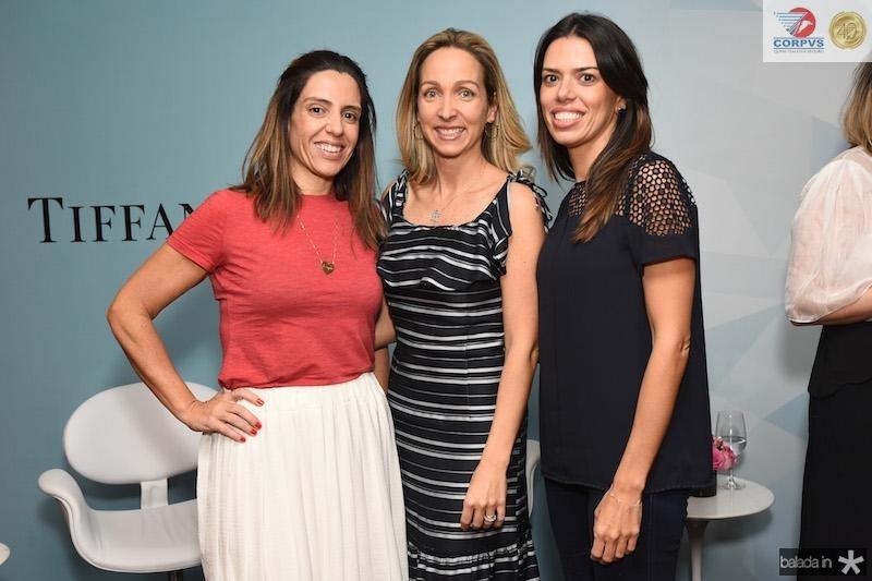 Elisa Tavares, Edda Ugollini e Gizella Luglio