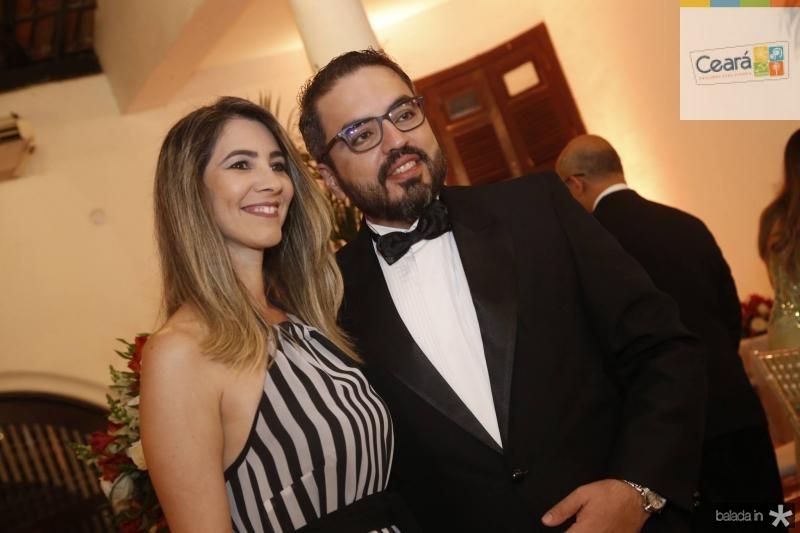 Liana Cajaty e Robson Loureiro