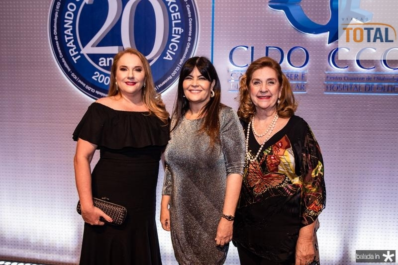 Luiziane Cavalcante, Eluize Pinehiro e Maria ereza Pinto