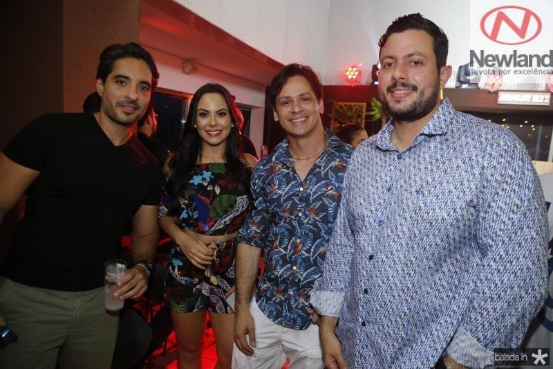 Rodrigo Porto, Mariana Duol, Jorge Lins e Ruda Carvalho