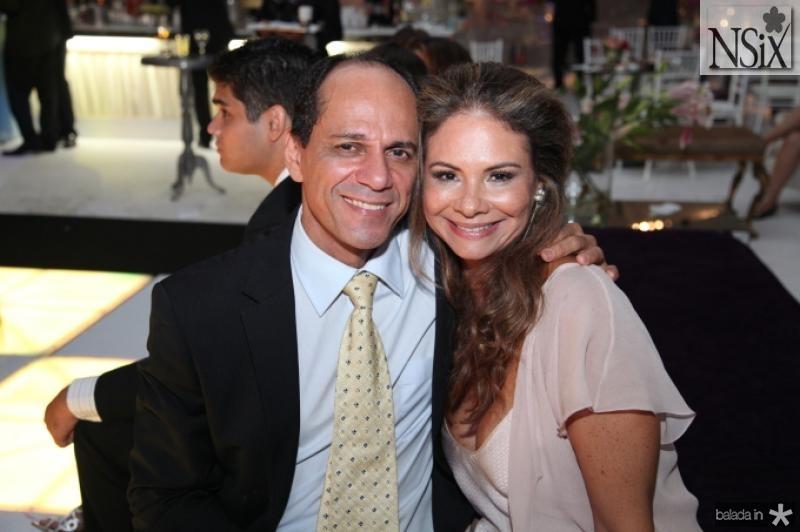 Mano Alencar e Milena Lima