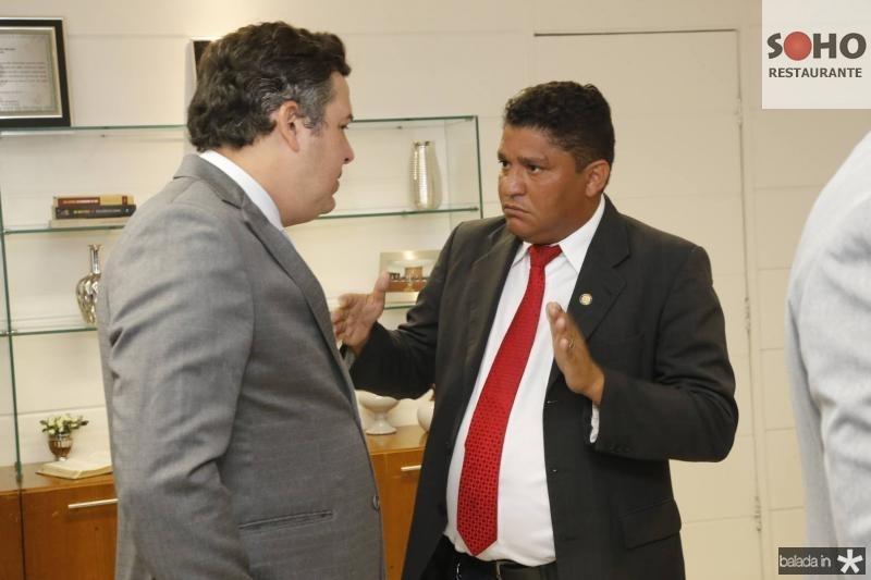 Samuel Dias e John Monteiro