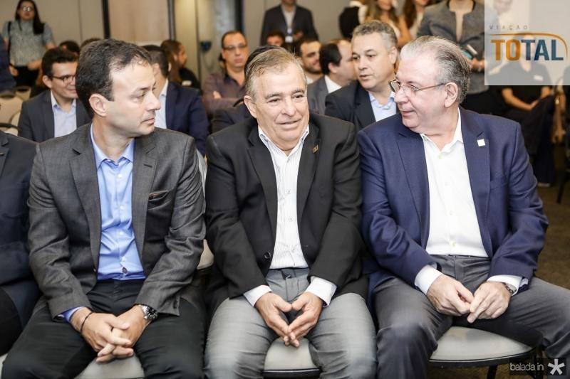 Danilo Serpa, Claudio Targino e Ricardo Cavalcante