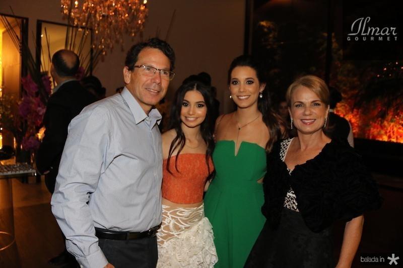 Flavio Studart, Claudinha Vale Stella Studart e Vera Albuquerque