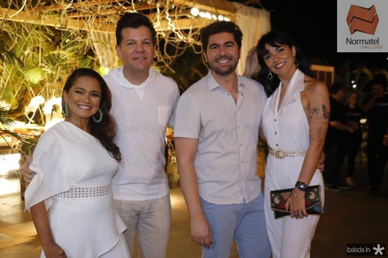 Nazare Santiago, Gustavo Serpa, Itaque Figueiredo e Joyce Malkomes