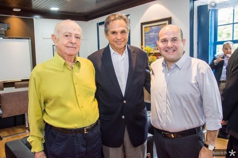 Jose Walter Cavalcante, Antonio Cambria e Roberto Claudio