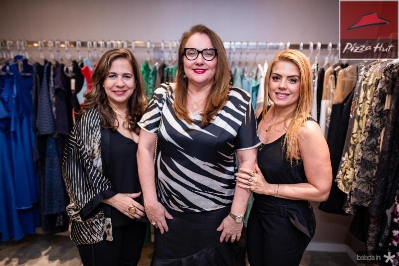 Martinha Assuncao, Luiziane Cavalcante e Leticia Studart