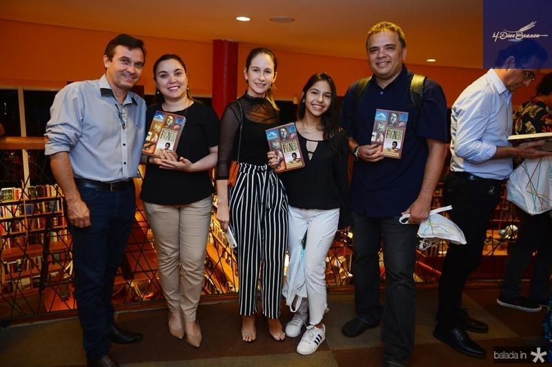 Ezau Bandeira, Yara Rodrigues, Cristiana Rolin, Nivania Aquini, Estevao Tabosa