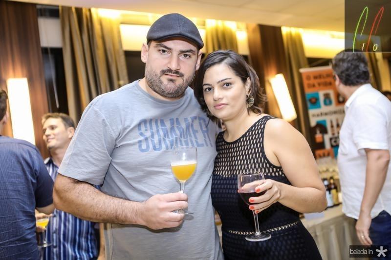 Samuel Bede e Rosangela Carvalho