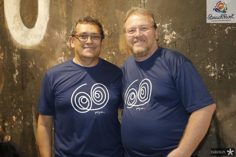 Jose Guedes e Sergio Albuquerque