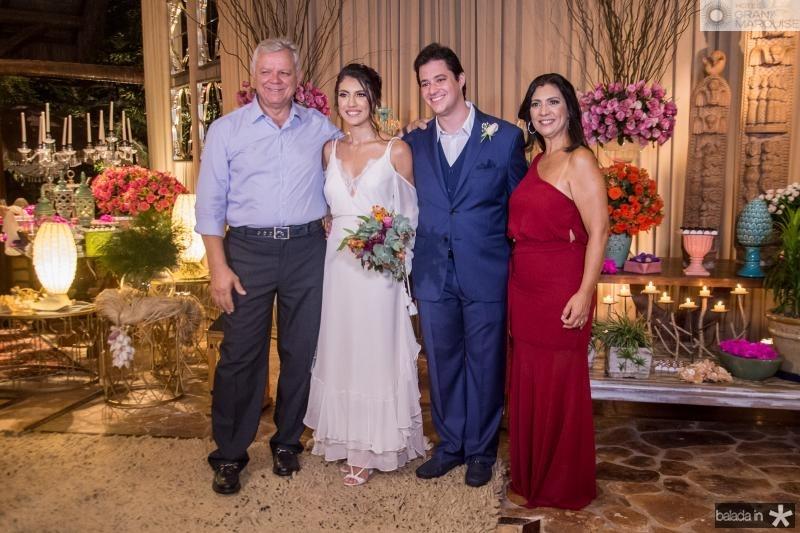 Franklin Roberto, Carla Braga, Joao Cabral Filho e Ana Claudia Braga