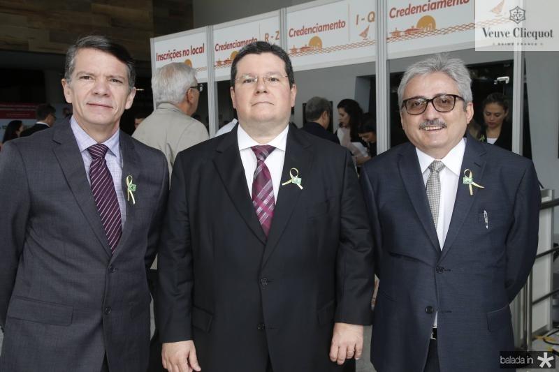 Pedro Alves, Fernando Dias e Chico Neto