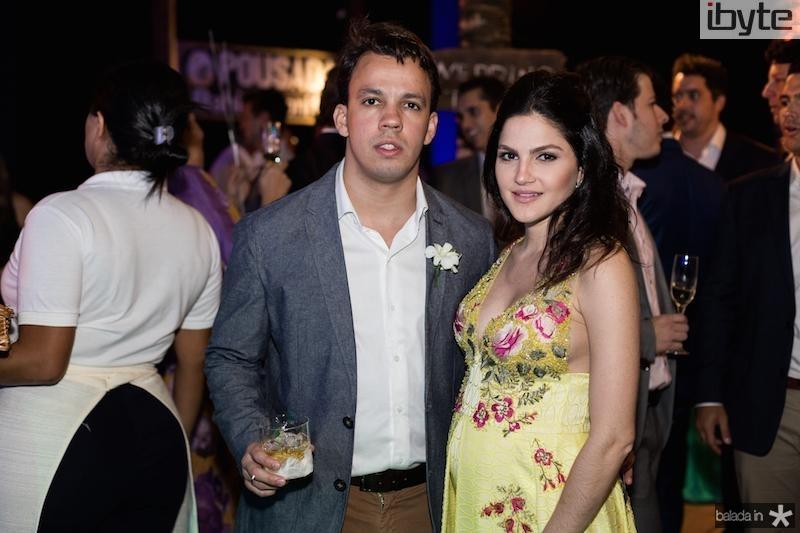 Alexandre e Hanna Felix