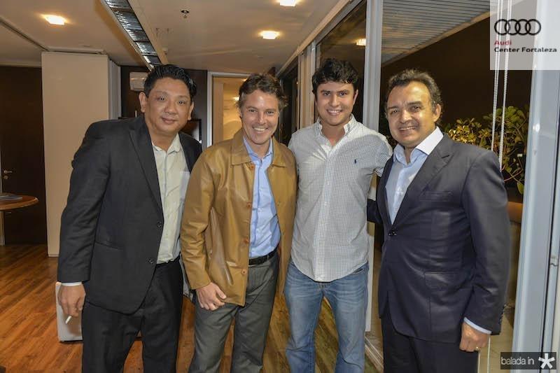 Yin, Ricardo Ferraro, Alexandre Razan e Henrique Pereto