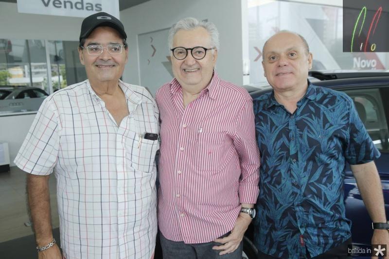 Joao Bezerra, Marconi Viana e Aquile Gomes